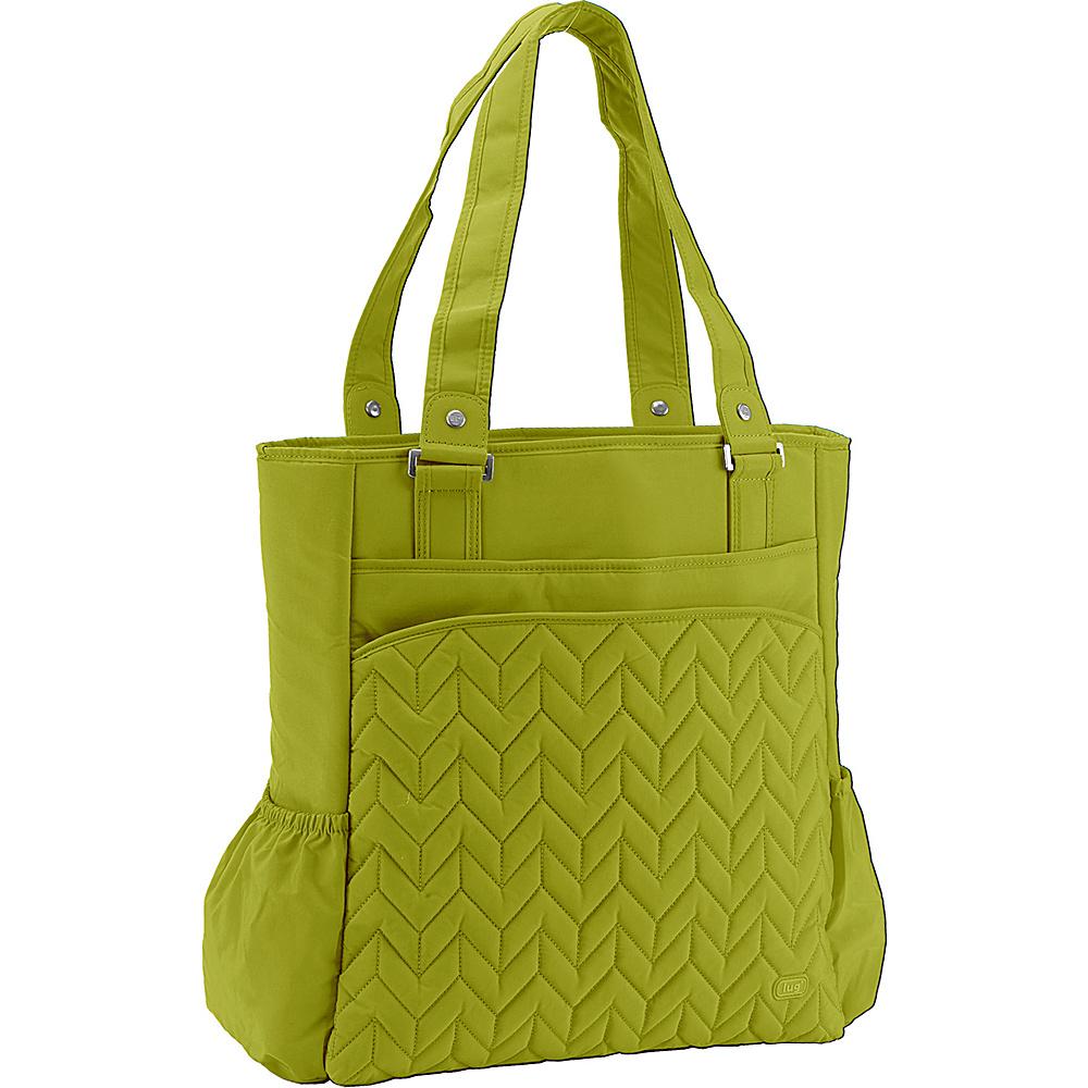 Lug Promenade Full Tote Grass Lug Fabric Handbags