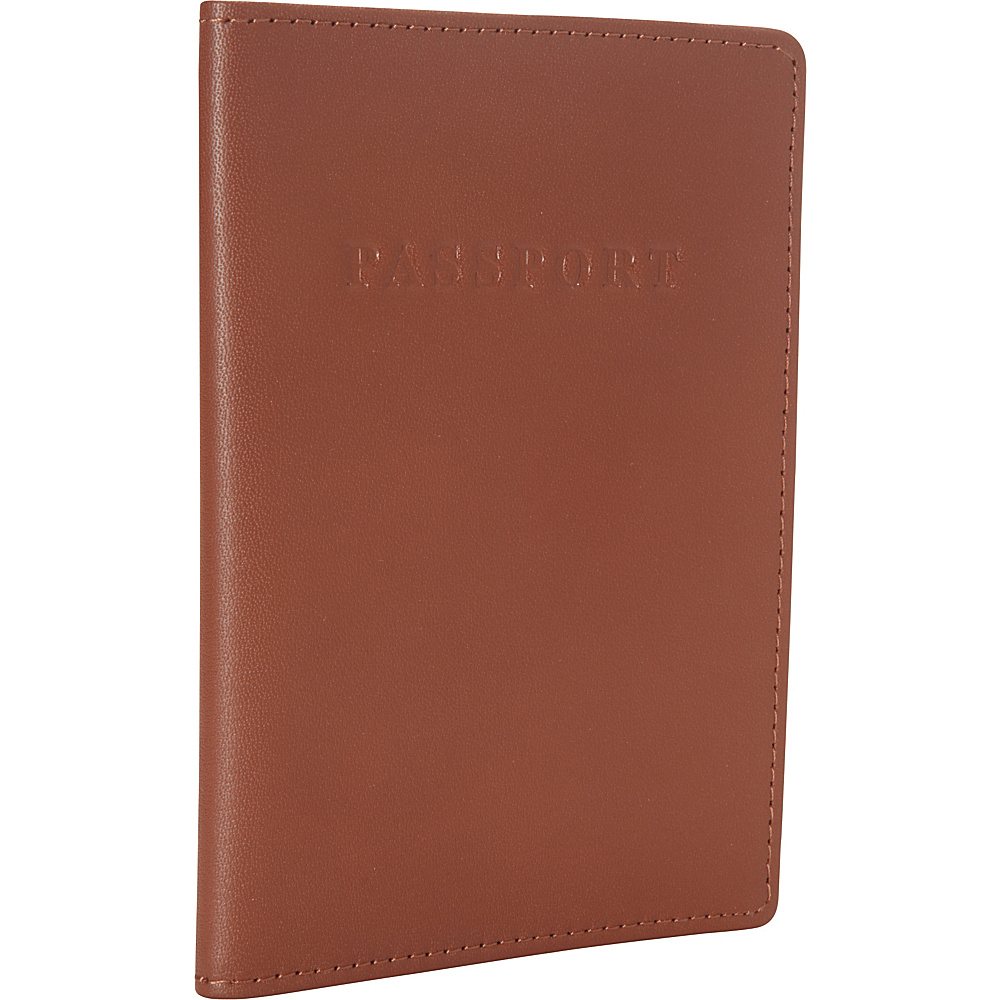 Royce Leather RFID Blocking Passport Jacket Tan - Royce Leather Travel Wallets - Travel Accessories, Travel Wallets