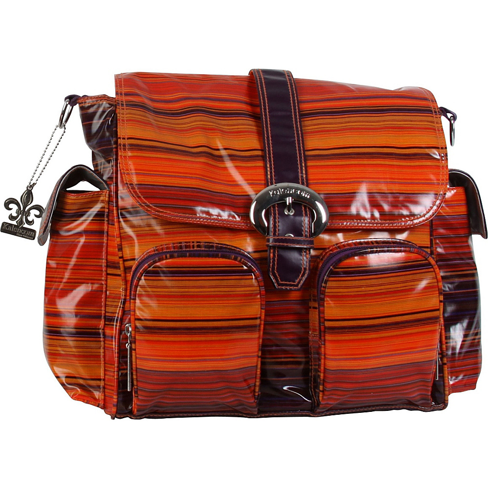 Kalencom Matte Coated Double Duty Diaper Backpack Sunset - Kalencom Diaper Bags & Accessories