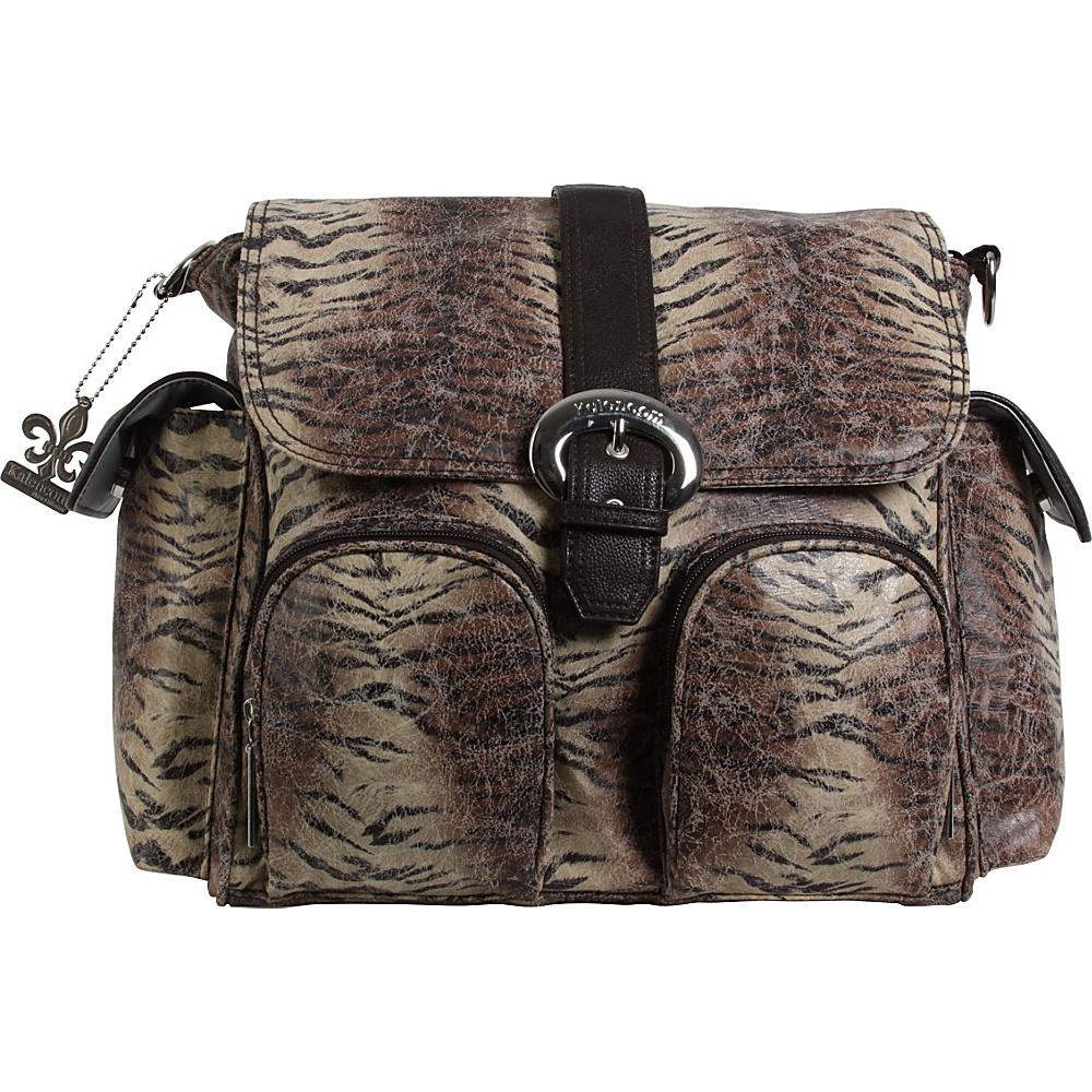Kalencom Matte Coated Double Duty Diaper Backpack Safari - Kalencom Diaper Bags & Accessories