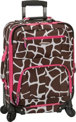 "Rockland Luggage Mariposa 19"" Expandable Spinner Carry ..."