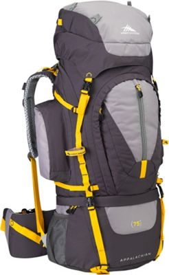 High Sierra Appalachian 75 Backpacking Pack Mercury/Ash/Yell-O - High Sierra Day Hiking Backpacks