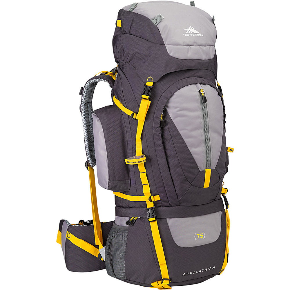 High Sierra Appalachian 75 Mercury Ash Yell O High Sierra Day Hiking Backpacks