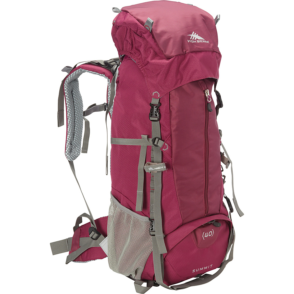 High Sierra Women's Summit 40 Backpacking Pack Boysenberry/Boysenberry/Ash - High Sierra Backpacking Packs
