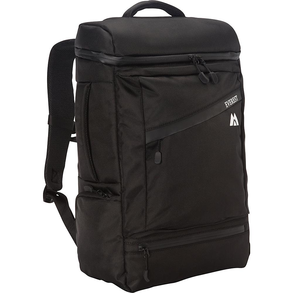 Everest Deluxe Laptop Backpack Black - Everest Business & Laptop Backpacks - Backpacks, Business & Laptop Backpacks