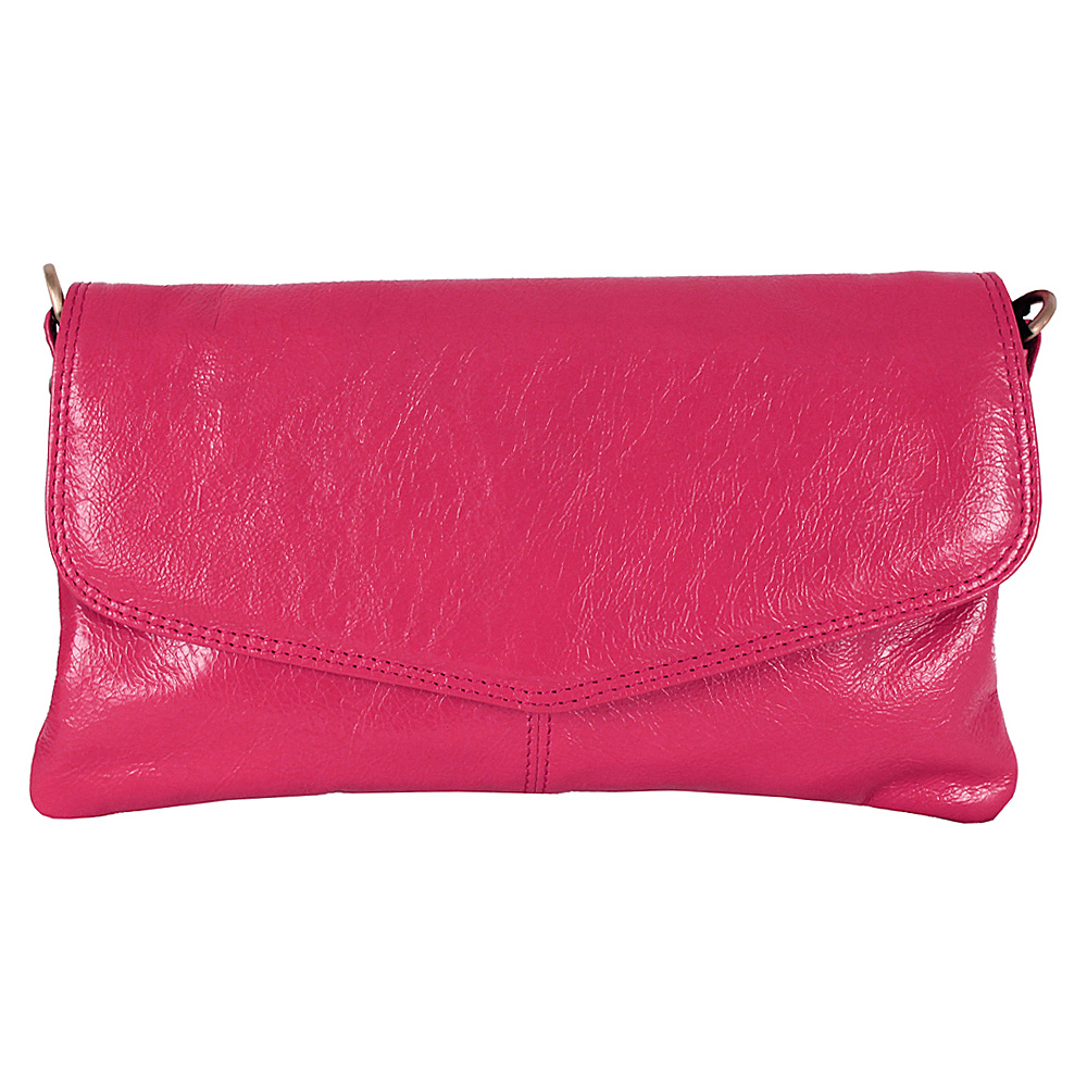 Latico Leathers Darryl Crossbody Fuchsia - Latico Leathers Leather Handbags - Handbags, Leather Handbags