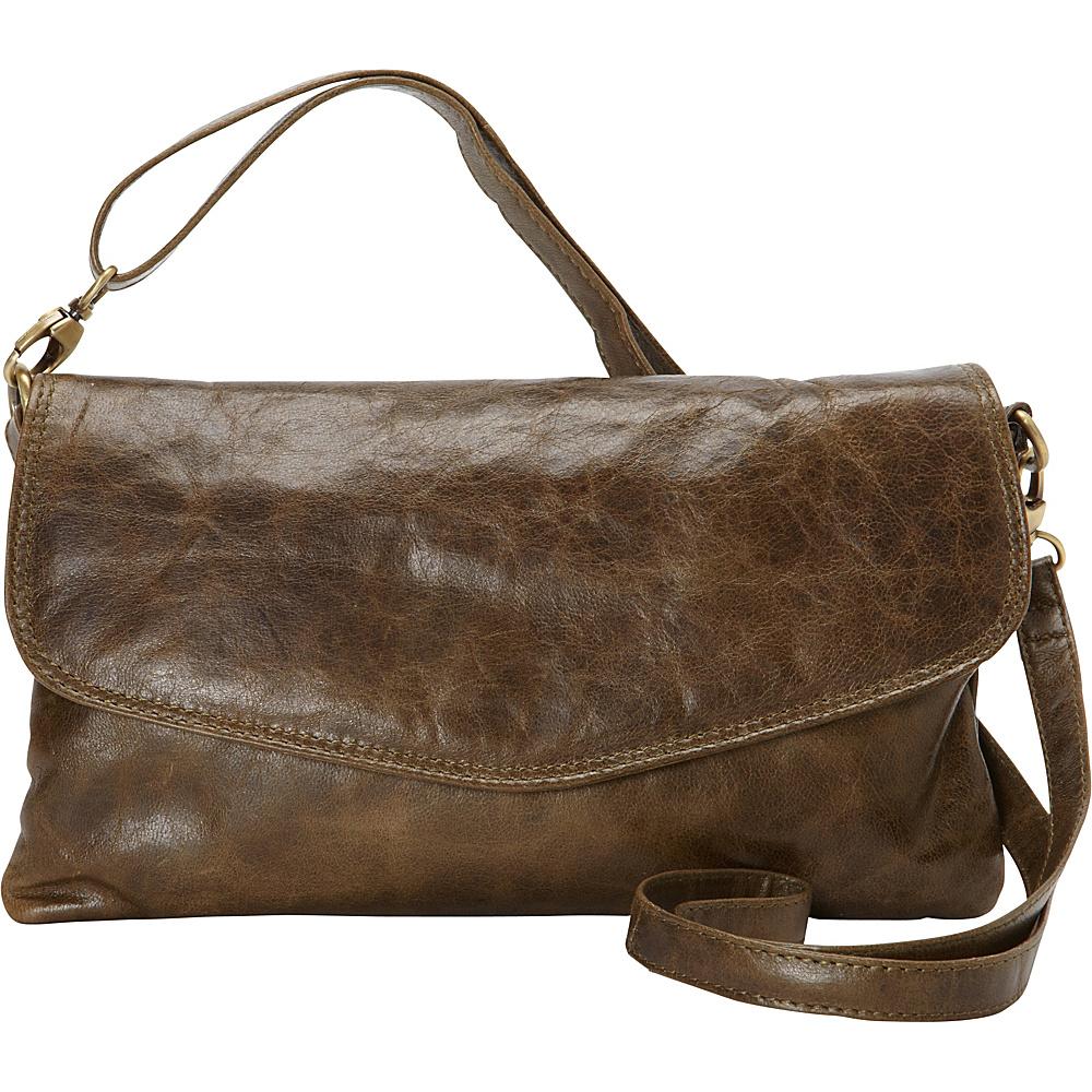 Latico Leathers Darryl Crossbody Crunch Olive - Latico Leathers Leather Handbags - Handbags, Leather Handbags