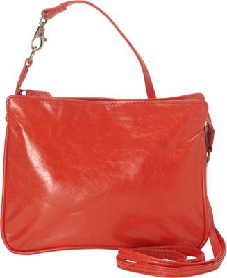 Latico Leathers Harris Shoulder Bag Poppy - Latico Leathers Leather Handbags