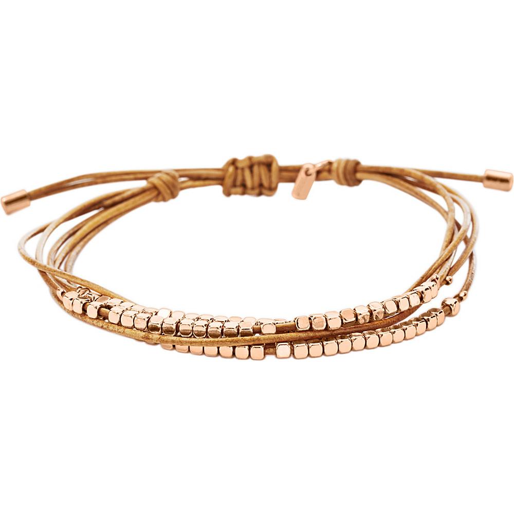 Fossil Dainty Rondel Slider Rose Gold - Fossil Other Fashion Accessories - Fashion Accessories, Other Fashion Accessories
