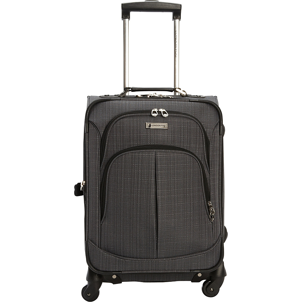 London Fog Chatham 20 Spinner Carry on Grey London Fog Softside Carry On
