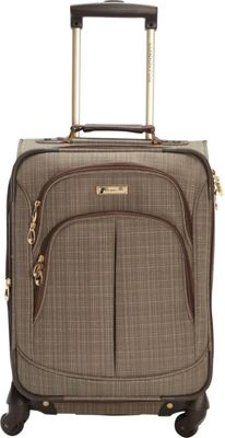 London Fog Chatham 20 inch Spinner Carry-on Tan - London Fog Softside Carry-On