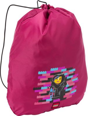 LEGO Cinch Sack - Movie Wyldstyle Pink - LEGO Everyday Backpacks