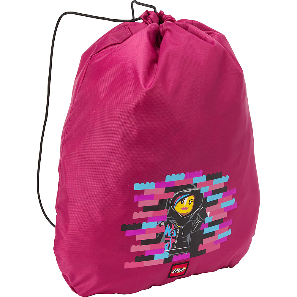 LEGO Cinch Sack Movie Wyldstyle Pink LEGO Everyday Backpacks