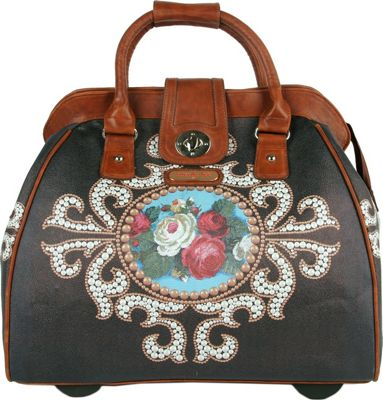 Nicole Lee Nicole Lee Cheri Rolling Business Tote - 18 inch Rose Pearl - Nicole Lee Luggage Totes and Satchels