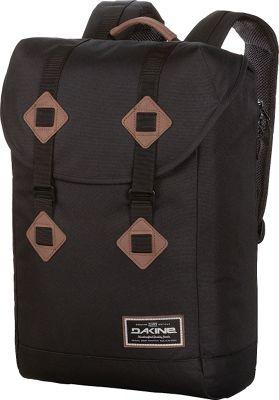 DAKINE Trek II 26L Laptop Backpack Black - DAKINE Business & Laptop Backpacks