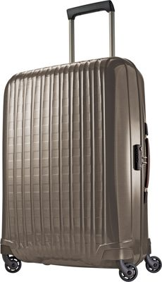 Hartmann Luggage Innovaire Long Journey Spinner Champagne - Hartmann Luggage Hardside Checked