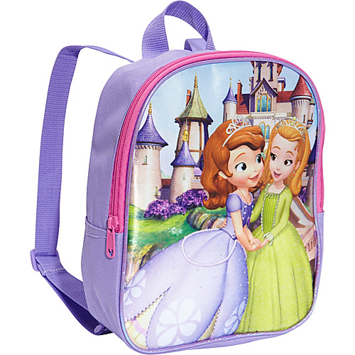 "Disney Sofia The First 10"" Backpack Purple - Disney School & Day Hiking Backpacks"