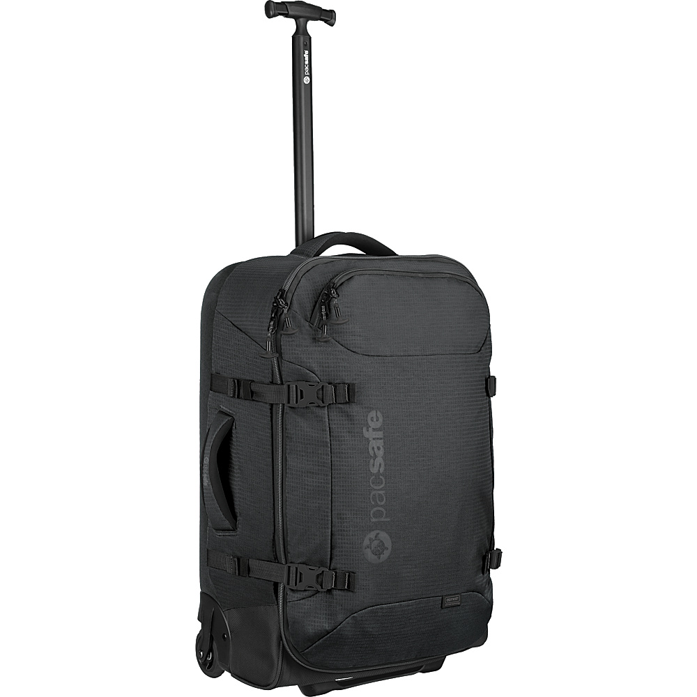 Pacsafe Toursafe AT25 Wheeled Duffel Black Pacsafe Rolling Duffels