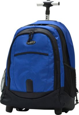 Olympia USA 19 inch Rolling Backpack Blues - Olympia USA Rolling Backpacks