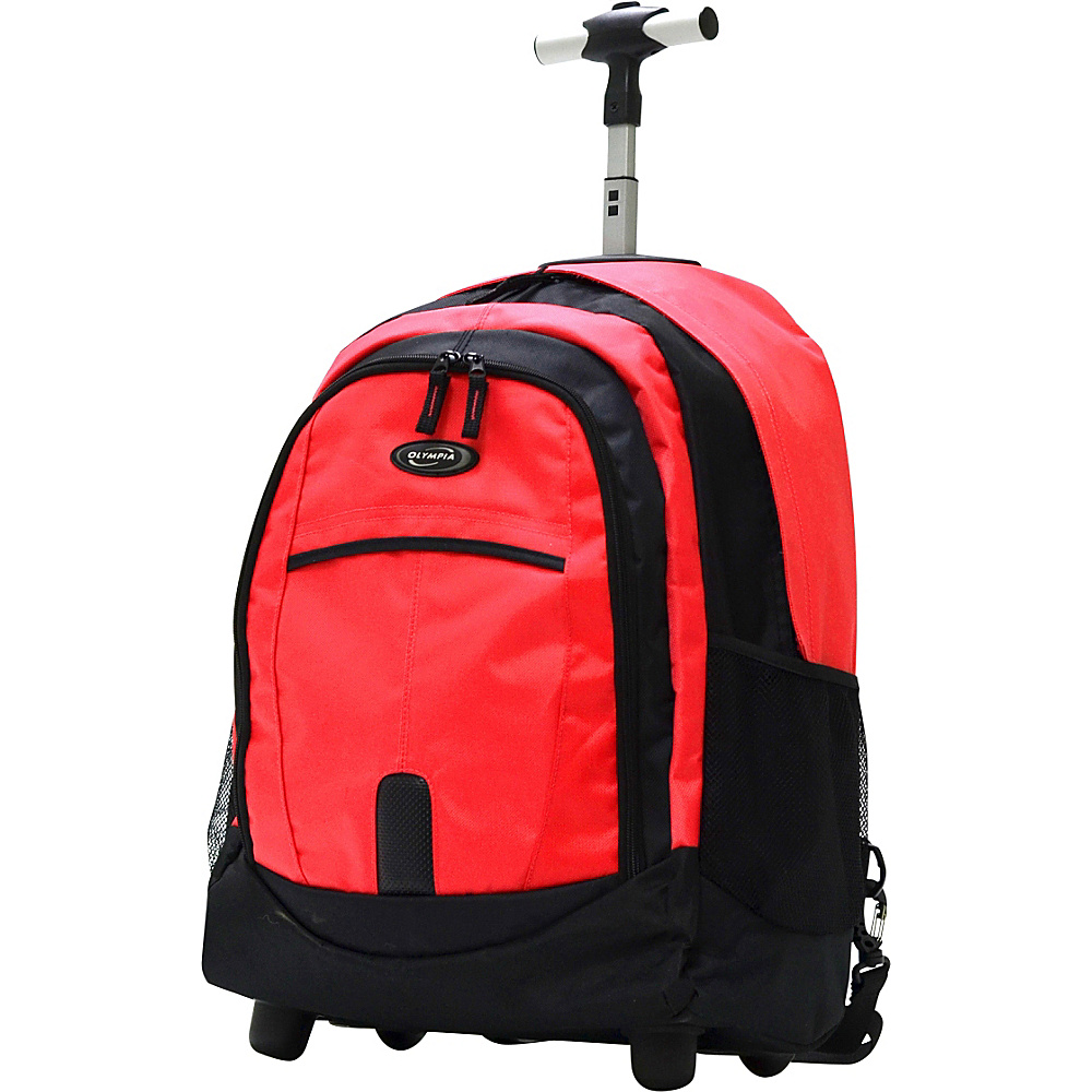 Olympia 19 Rolling Backpack Reds Olympia Rolling Backpacks