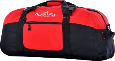 Olympia USA 30 inch Sports Duffel Red - Olympia USA Rolling Duffels