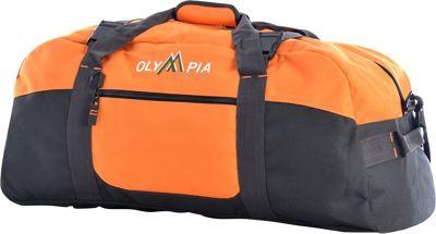 Olympia USA 30 inch Sports Duffel Oranges - Olympia USA Rolling Duffels