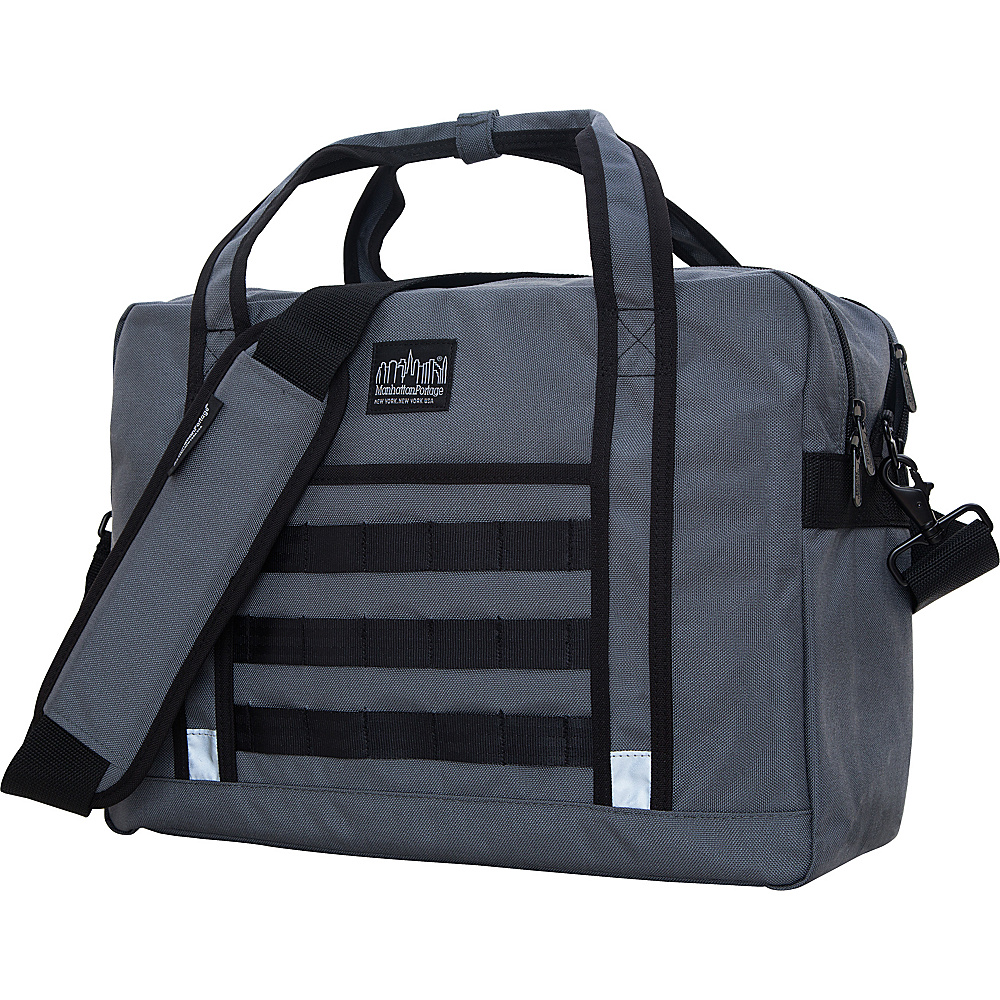 Manhattan Portage Yorkville Messenger Bag Gray Manhattan Portage Messenger Bags