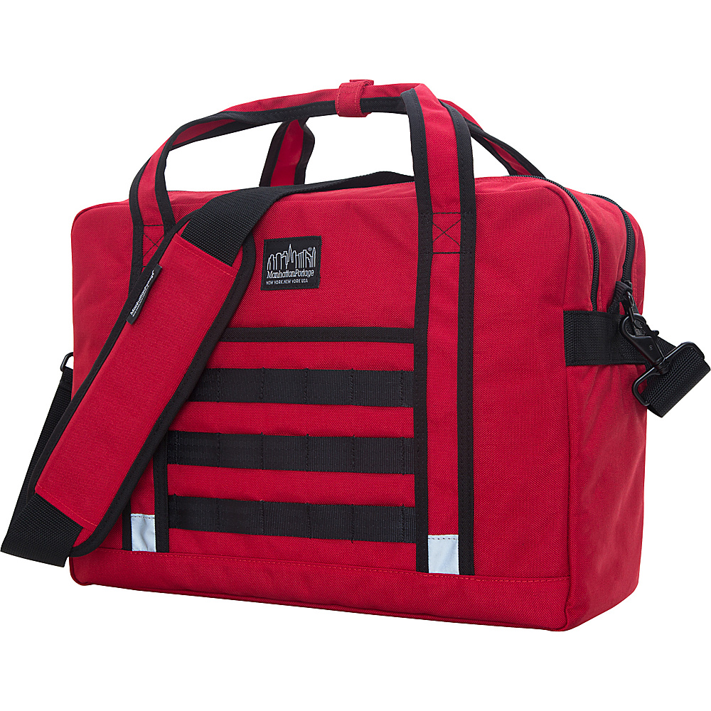 Manhattan Portage Yorkville Messenger Bag Red - Manhattan Portage Messenger Bags - Work Bags & Briefcases, Messenger Bags