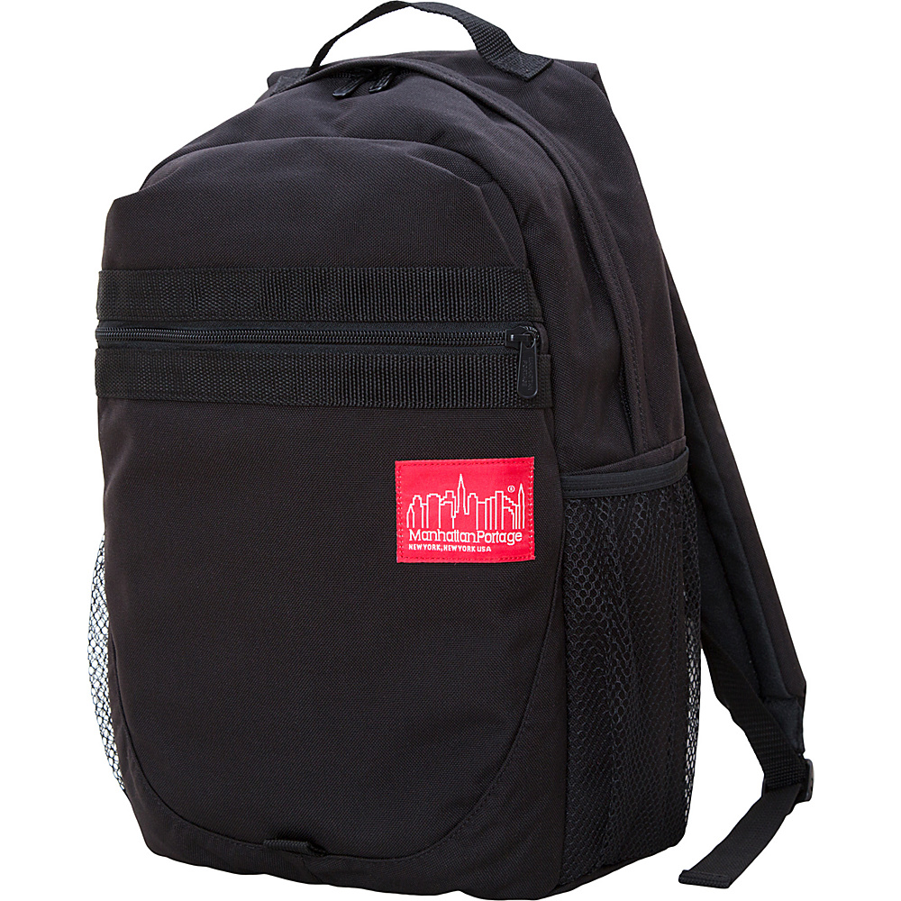 Manhattan Portage Critical Mass Backpack Black - Manhattan Portage Business & Laptop Backpacks - Backpacks, Business & Laptop Backpacks