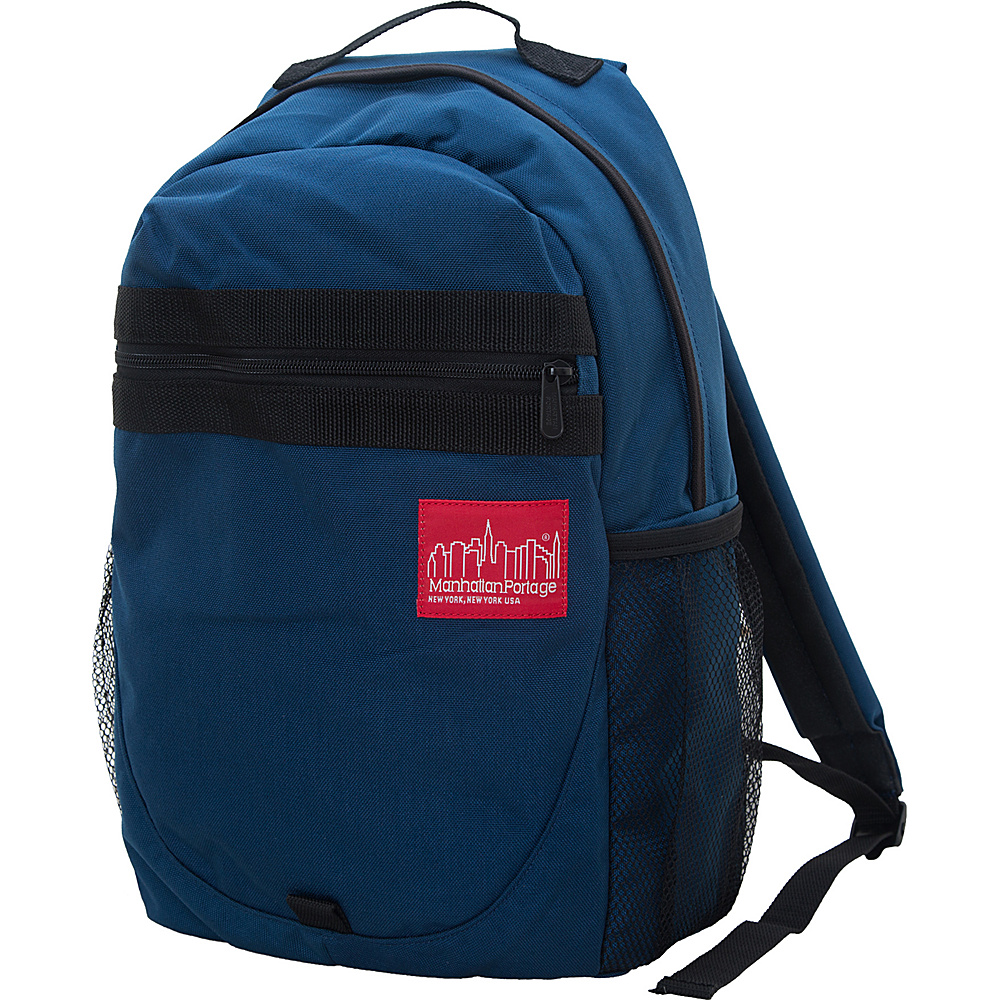 Manhattan Portage Critical Mass Backpack Navy - Manhattan Portage Business & Laptop Backpacks - Backpacks, Business & Laptop Backpacks