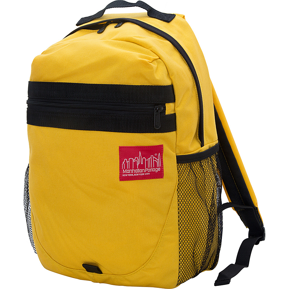 Manhattan Portage Critical Mass Backpack Mustard - Manhattan Portage Business & Laptop Backpacks - Backpacks, Business & Laptop Backpacks