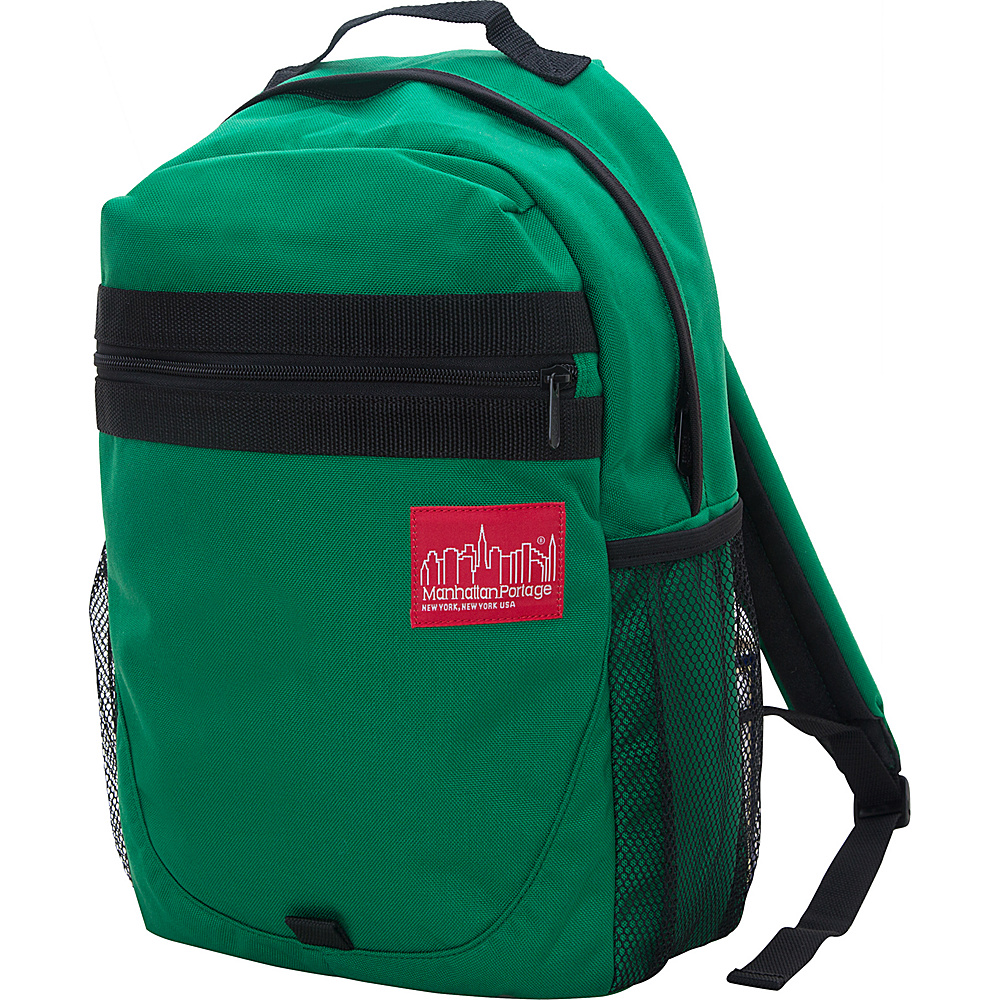 Manhattan Portage Critical Mass Backpack Green - Manhattan Portage Business & Laptop Backpacks - Backpacks, Business & Laptop Backpacks