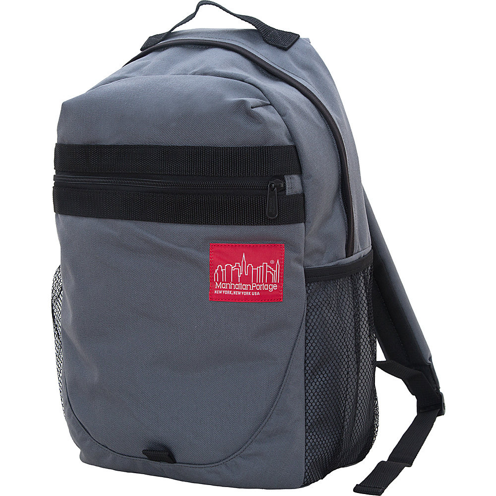 Manhattan Portage Critical Mass Backpack Gray - Manhattan Portage Business & Laptop Backpacks - Backpacks, Business & Laptop Backpacks