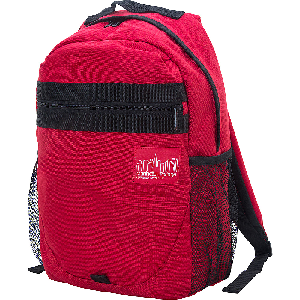 Manhattan Portage Critical Mass Backpack Red - Manhattan Portage Business & Laptop Backpacks - Backpacks, Business & Laptop Backpacks