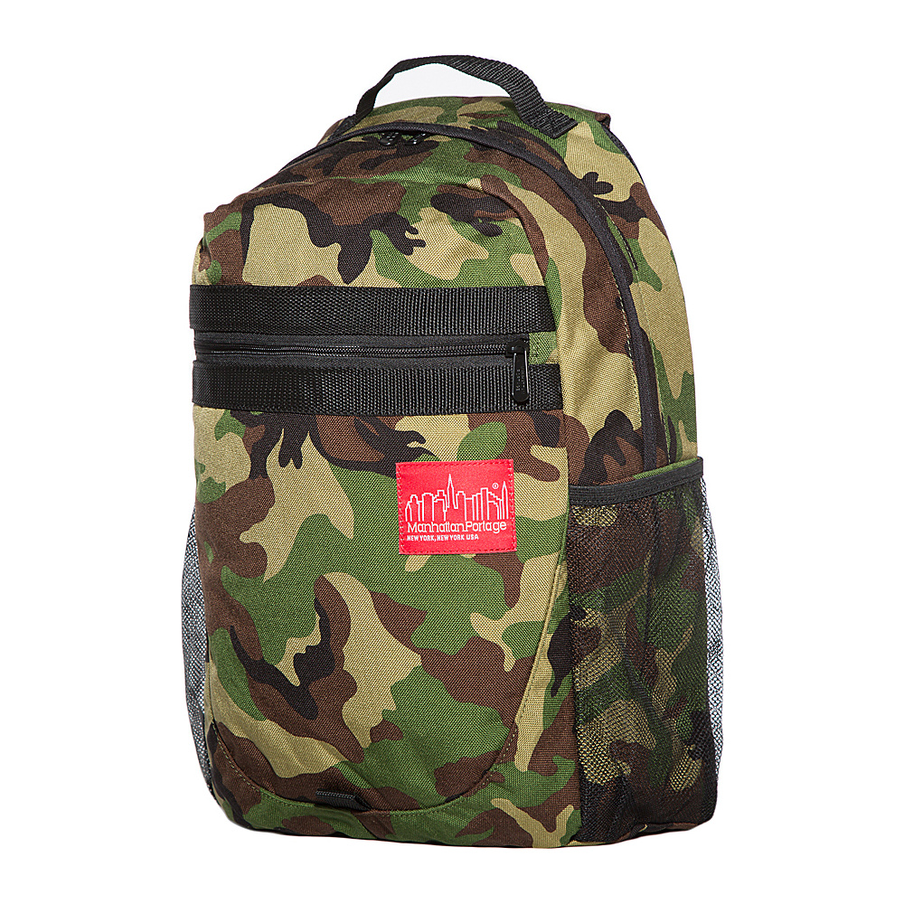 Manhattan Portage Critical Mass Backpack Camouflage - Manhattan Portage Business & Laptop Backpacks