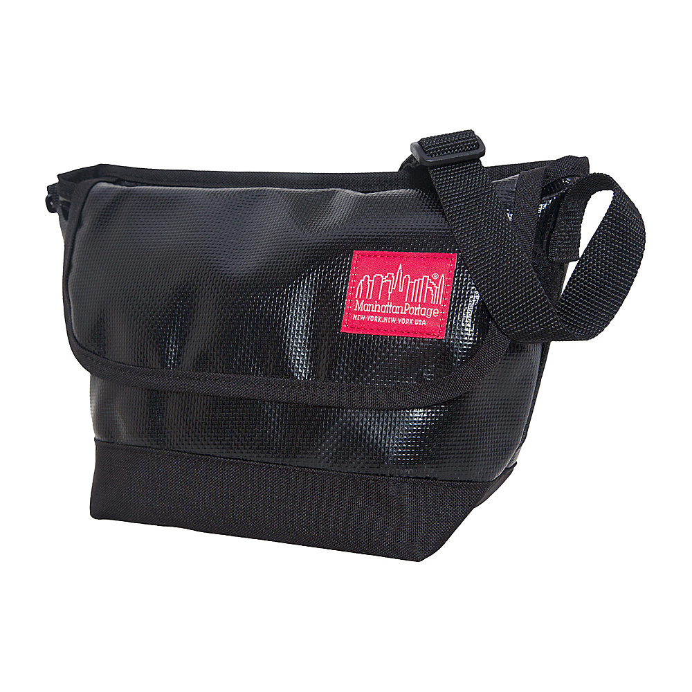 Manhattan Portage Vinyl Messenger Bag (XXS) VER3 Black - Manhattan Portage Other Mens Bags - Work Bags & Briefcases, Other Men's Bags