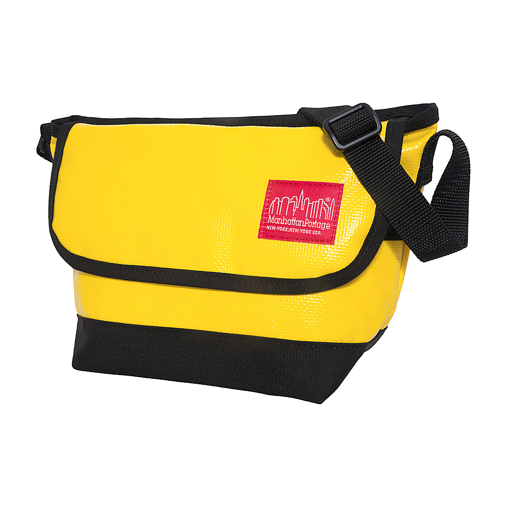Manhattan Portage Vinyl Messenger Bag (XXS) VER3 Yellow - Manhattan Portage Other Mens Bags - Work Bags & Briefcases, Other Men's Bags