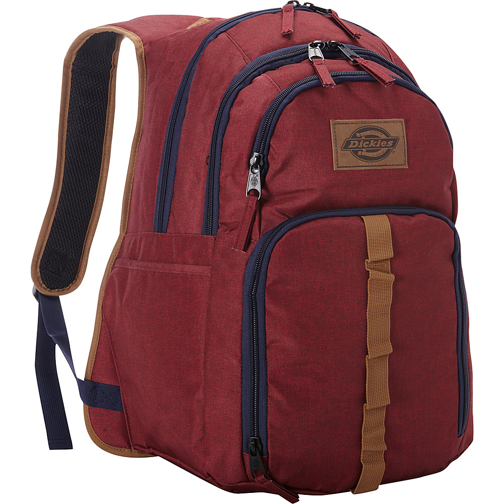 Dickies Cool Backpack SCARLET HEATHER Dickies Business Laptop Backpacks