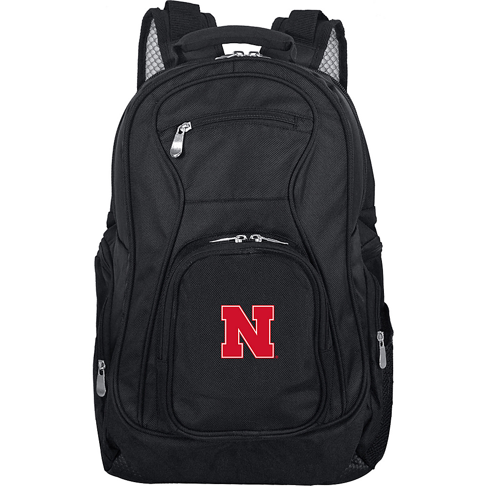 "Denco Sports Luggage NCAA 19"" Laptop Backpack Black - Denco Sports Luggage Business & Laptop Backpacks"