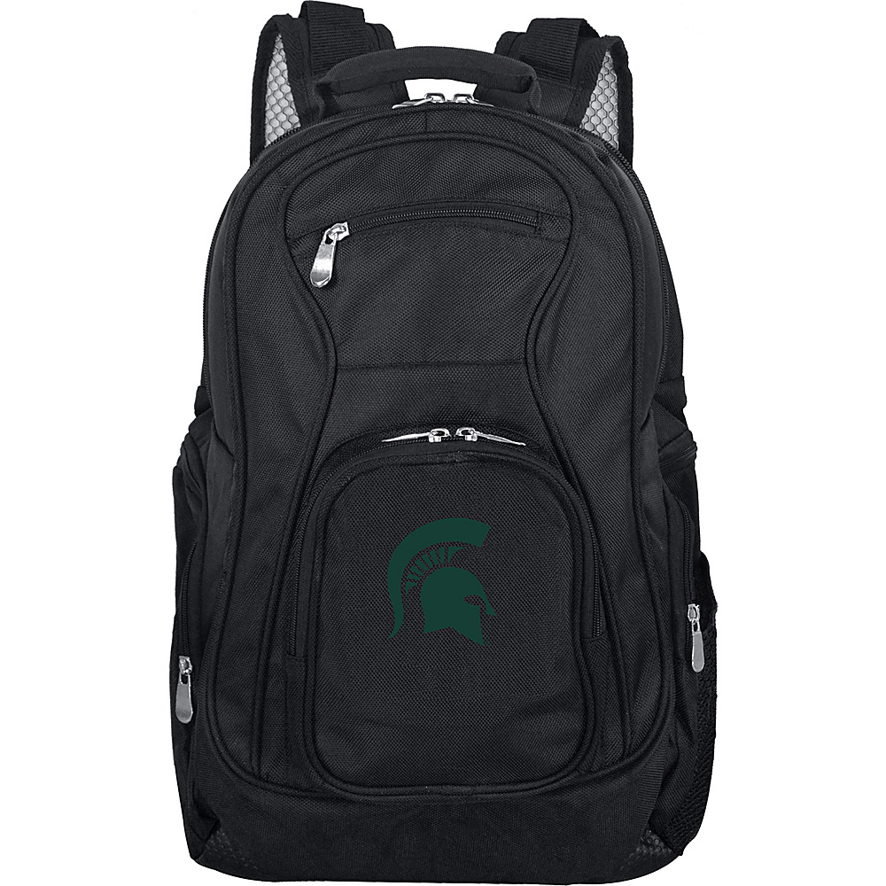 Denco Sports Luggage NCAA 19 Laptop Backpack Michigan State University Spartans - Denco Sports Luggage Business & Laptop Backpacks - Backpacks, Business & Laptop Backpacks