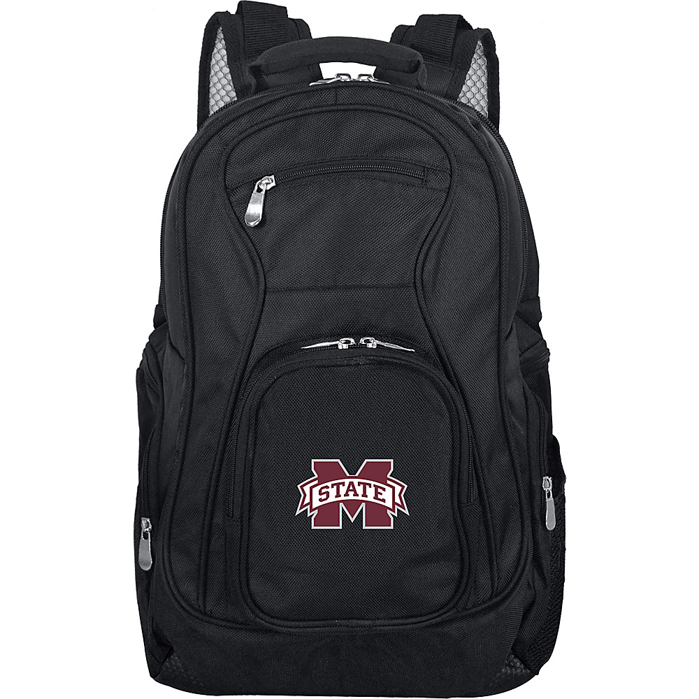 Denco Sports Luggage NCAA 19 Laptop Backpack Mississippi State University Bulldogs - Denco Sports Luggage Business & Laptop Backpacks - Backpacks, Business & Laptop Backpacks
