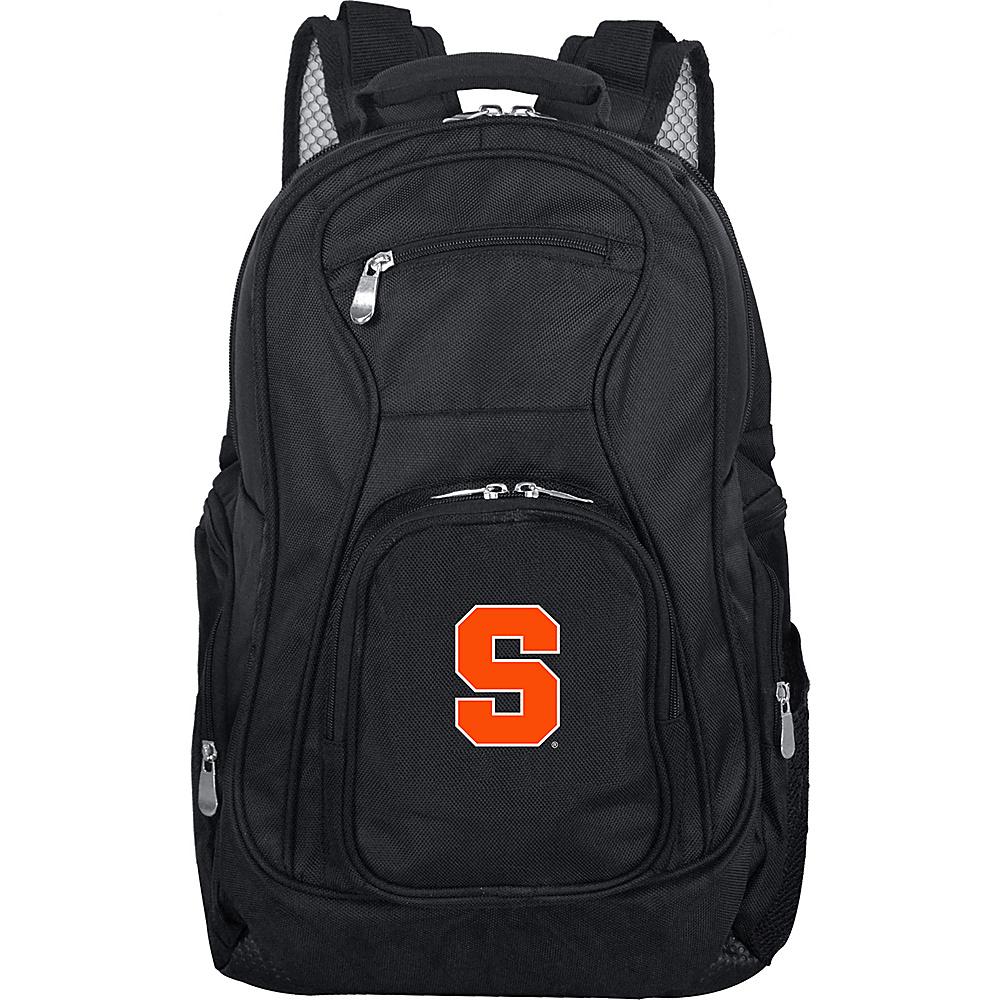 Denco Sports Luggage NCAA 19 Laptop Backpack Syracuse University Orange - Denco Sports Luggage Business & Laptop Backpacks - Backpacks, Business & Laptop Backpacks