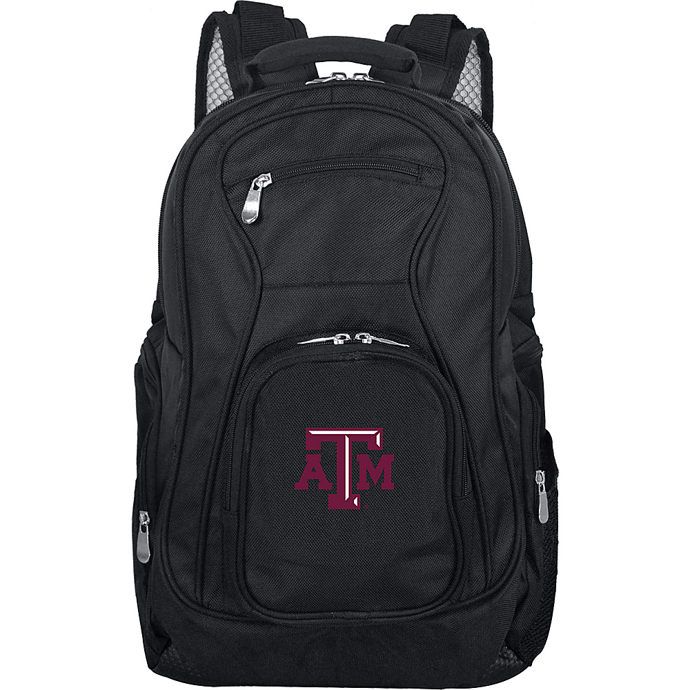 Denco Sports Luggage NCAA 19 Laptop Backpack Texas A&M University Aggies - Denco Sports Luggage Business & Laptop Backpacks - Backpacks, Business & Laptop Backpacks