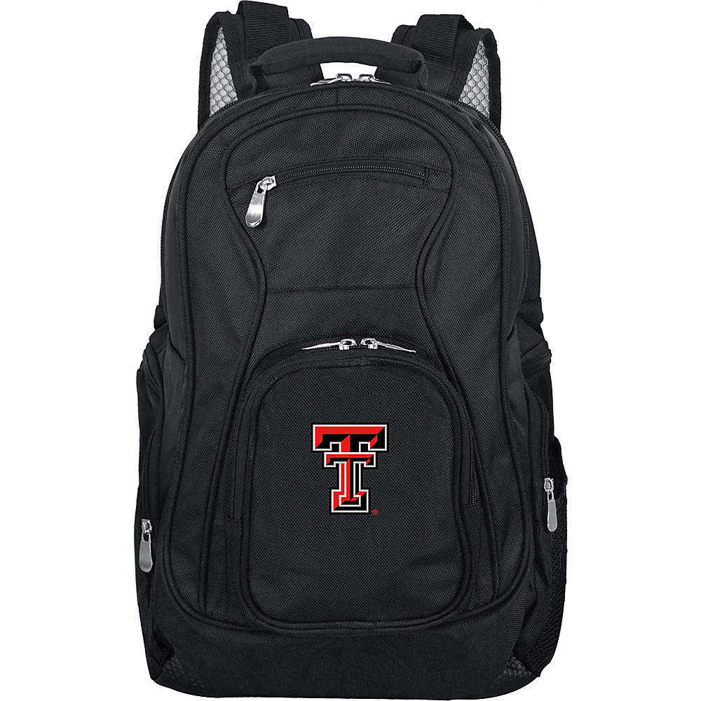Denco Sports Luggage NCAA 19 Laptop Backpack Texas Tech University Red Raiders - Denco Sports Luggage Business & Laptop Backpacks - Backpacks, Business & Laptop Backpacks