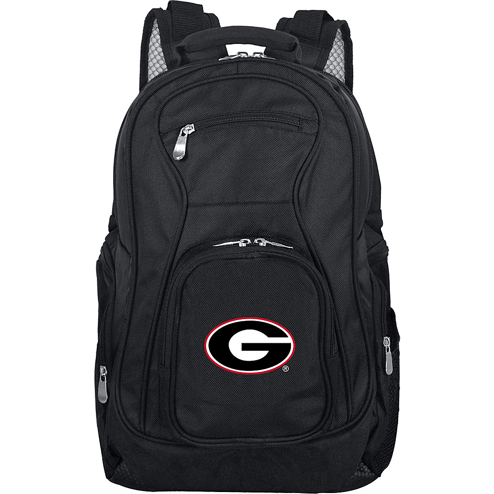 Denco Sports Luggage NCAA 19 Laptop Backpack University of Georgia Bulldogs - Denco Sports Luggage Business & Laptop Backpacks - Backpacks, Business & Laptop Backpacks