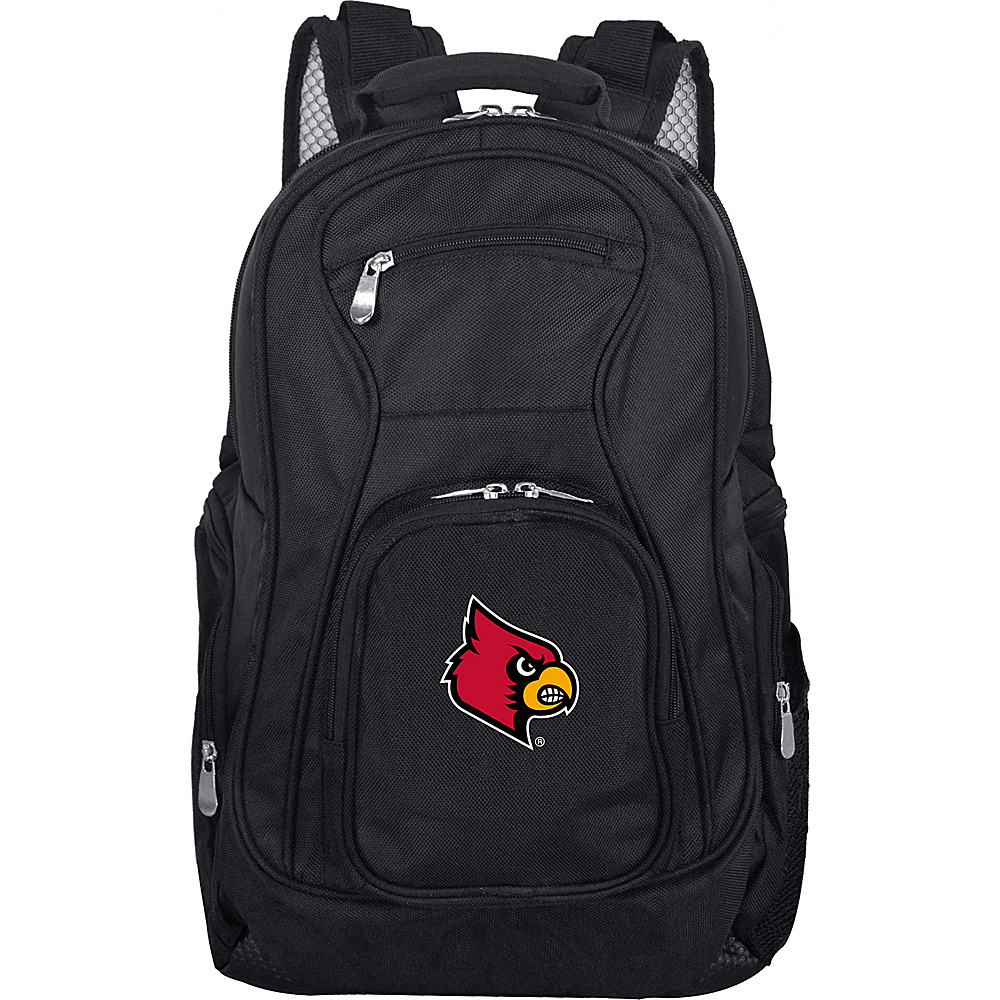 Denco Sports Luggage NCAA 19 Laptop Backpack University of Louisville Cardinals - Denco Sports Luggage Business & Laptop Backpacks - Backpacks, Business & Laptop Backpacks