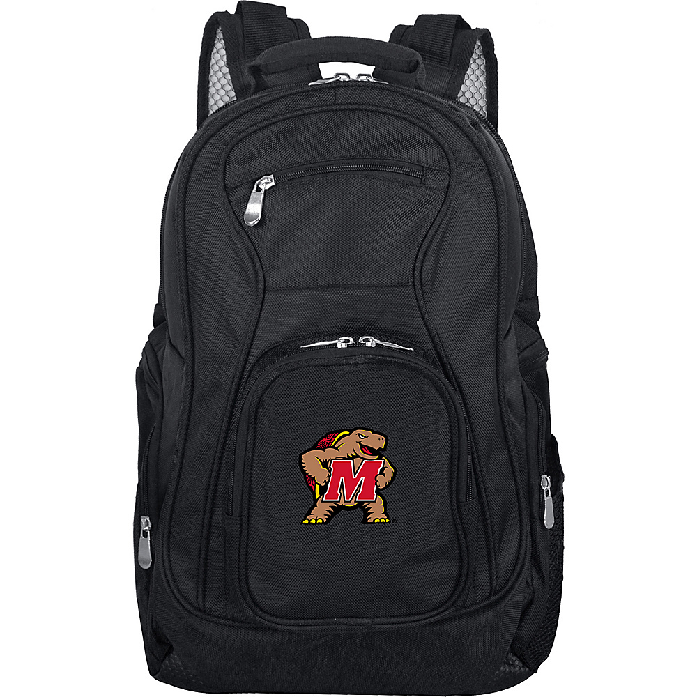 Denco Sports Luggage NCAA 19 Laptop Backpack University of Maryland, College Park Terrapins - Denco Sports Luggage Business & Laptop Backpacks - Backpacks, Business & Laptop Backpacks