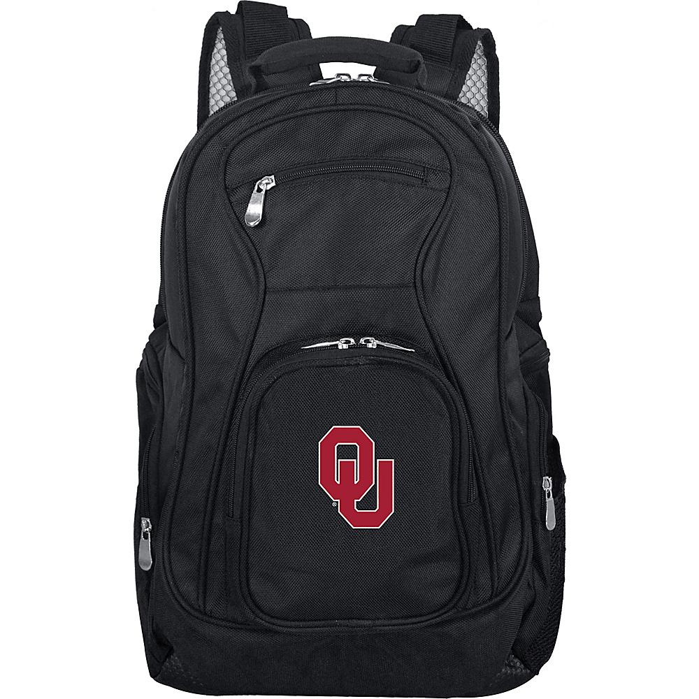 Denco Sports Luggage NCAA 19 Laptop Backpack University of Oklahoma Sooners - Denco Sports Luggage Business & Laptop Backpacks - Backpacks, Business & Laptop Backpacks