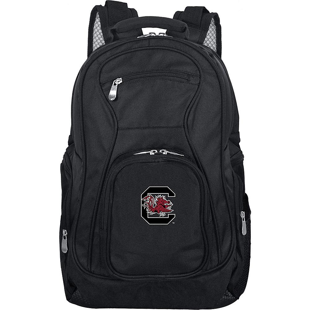 Denco Sports Luggage NCAA 19 Laptop Backpack University of South Carolina Gamecocks - Denco Sports Luggage Business & Laptop Backpacks - Backpacks, Business & Laptop Backpacks