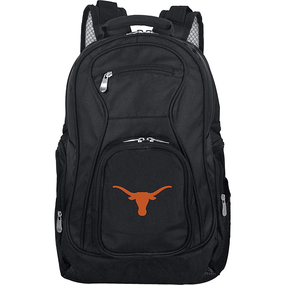 Denco Sports Luggage NCAA 19 Laptop Backpack University of Texas at Austin Longhorns - Denco Sports Luggage Business & Laptop Backpacks - Backpacks, Business & Laptop Backpacks
